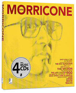 Ennio Morricone - Hardcover + 4 Audio CDs ***New***