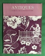 The Magazine ANTIQUES October 1969 Issue
