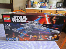 new resistance x wing fighter, FIGURES HAVE BEEN REMOVED, lego star wars 75149