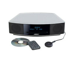 NEW Bose Wave IV Music System Platinum Silver BUNDLE Bluetooth, USB, more! $499