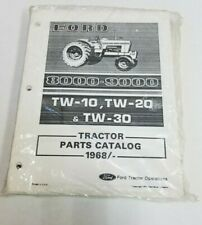 Ford 8000 9000 Tw 10 Tw 20 Tw 30 1968 Tractor Parts Catalog