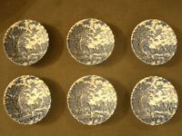 Bellissimo SET SERVITO Johnson Brothers COTSWOLD Made in England 9Piattini d13cm