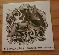Johnny Hobo and the Freight Trains - FIGHT LIKE HELL, Vinyl LP Presale 1st PRESS