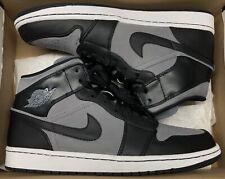 Jordan 1 Phat Cool Grey Black White Mid High Og Shadow 364770-023 Sz 12