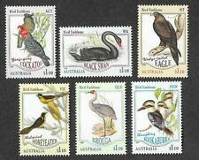 Australia-Bird Emblems 2020 mnh set gummed(6)