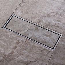 Linear Shower Drains High Flow Quick Floor Drain Grates 30*10CM