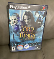 Lord of the Rings: The Two Towers - Sony PlayStation 2 PS2 Game, COMPLETE tested