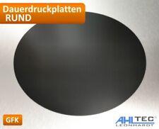 Runde GFK Dauerdruckplatte 3D Drucker Druckplatte für ABS PLA PETG HIPS PMMA  ..