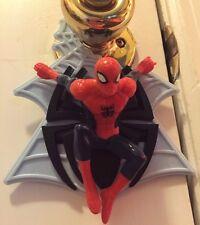 2012 MARVEL action figure SPIDERMAN door knob hanger
