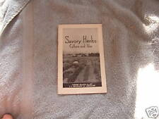 Savory Herbs Cultural Use Farmers Bulletin #1977 1958