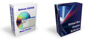 CD Seller Software Package Autorun & Virtual Box Maker