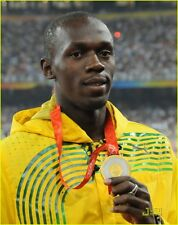 USAIN BOLT 100 METRE OLYMPICS GOLD MEDAL PHOTO IMAGE PICTURE MOTIVATION TRAINING