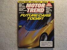 Motor Trend 1990 August Toyota Ford Probe vs Plymouth Laser VW Jetta GLI Volvo
