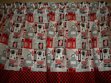 Chef Cook Barbecue Summer Pinic Kitchen Window Valance Decor