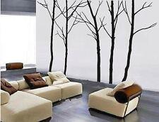 5pcs 260cm Hight Big Trees Vinyl Wall Paper Decal Art Sticker T226