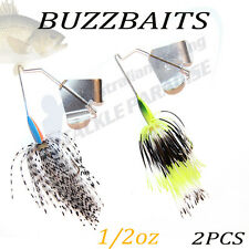2x 1/2oz Buzzbait Buzz Baits Fishing Lure Spinnerbaits Spinner Spinners Bass 2
