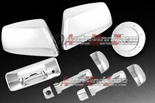 07-13 TOYOTA Tundra Chrome 4 Door Handle Covers+ Half Mirror+ Tailgate+Gas Cover