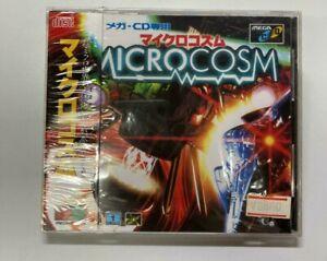 MEGA CD MICROCOSM NEW FACTORY SEALED JPN IMPORT