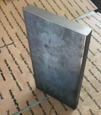 "Steel Flat Bar 1"" THICK X 6"" X 12"" L Target Plate Blacksmith Bench Hammer Plate"