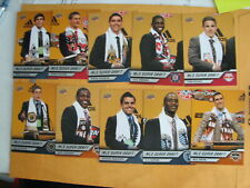 MLS SUPER DRAFT MEN'S SET / LOT 2011 UPPER DECK SOCCER 10 CARDS SEE PICTURES