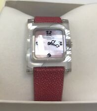 Dunhill Crystal & Mother Of Pearl Parody Wristwatch New Old Stock. Was £1150.