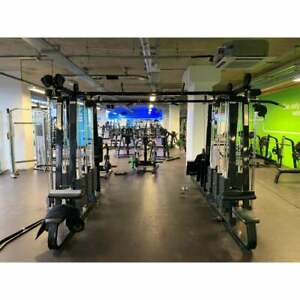 Precor Icarian Line 8 Stack with 10 Multi Station - Commercial Gym Equipment