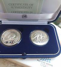Dittico 5 e 10 euro argento - Olimpiadi Torino 2006