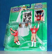 1997 CLASSIC DOUBLES 69432 -JOE MONTANA*DWIGHT CLARK*49ERS- NFL THE CATCH #3 SLU