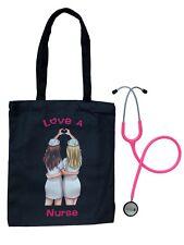 Prestige Medical & Valencia Med Bundle: Clinical Lite Stethoscope with Tote Bag
