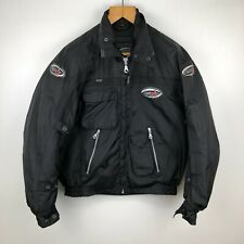 Mens RST Motorcycle Jacket Black Size Medium M