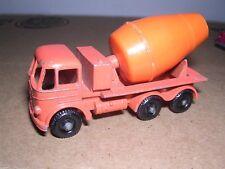 Matchbox #26b  Foden Cement Mixer Truck 1956 - Orange