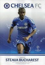Chelsea Home Teams C-E Football Programmes with Match Ticket
