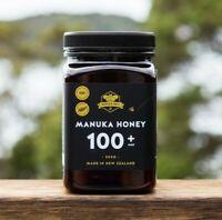 Manuka Bros. 100+ MGO 500g - Certified TRUE RAW New Zealand Manuka Honey