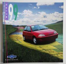 CHEVROLET METRO 1999 dealer brochure catalog - French - Canada