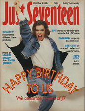 Just Seventeen Magazine 21 October 1987   Five Star   Ione Skye   The Bee Gees