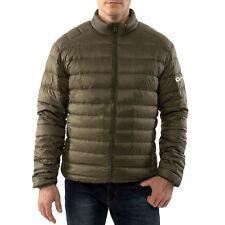 Alpine Swiss Men's Down Jacket Puffer Coat Packable & Light Green Small
