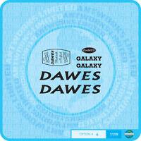 Dawes Galaxy Decals Bicycle Transfers - Black - Set 6