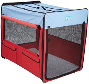 Guardian Gear Collapsible Folding Soft Portable Dog Crate XL for Extra Large -