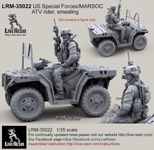 Live Resin 1/35 LRM-35022 US Special Forces 2013 ATV Rider, Smealing