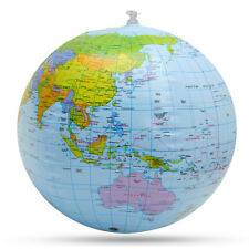 30cm Inflatable Globe Educational Map Office Ocean Geography Toy Beach Ball