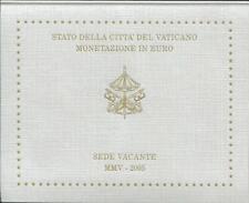 Vatikan Euro Münzen Kursmünzensatz Sede Vacante 2005