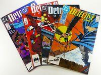 DC BATMAN: DETECTIVE COMICS (1989) #595 601 602 603 LOT VF/NM Ships FREE!