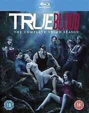 TRUE BLOOD Complete Season 3 Blu Ray Anna Paquin, Sam Trammell, Ryan NEW UK BRAY
