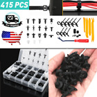 415x Car Suv Hole Plastic Rivets Fastener Push Clips Clip For Ford Car Parts Us