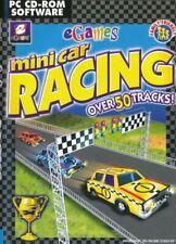 EGames Mini Car Racing - 3d - 50 Tracks Multiplayer-PC CD-ROM (NEU & VERSIEGELT)