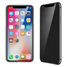 TEMPERED GLASS VITRE PROTECTION �‰CRAN VERRE TREMP�‰ ANTI ESPION IPHONE X 8 7 6