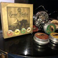 Gramophone Needles 4 x TINS FULL RANGE BOX SET Brand New