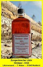 Himbeerlikör mit Chili 0,7l  -  Chiliklkör  -  Likörversand Waldbröl Angebot
