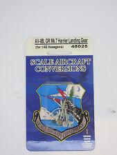 1/48 AV8B GR Mk7 Harrier Landing Gear Hasegawa - SCALE AIRCRAFT CONVERSION 48025
