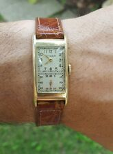 Vintage 1940's Men's Gruen doctors technicians wristwatch Cal. 500 Very Nice!!
